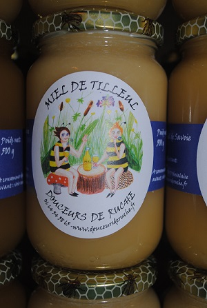 Miel de tilleul récolté en Savoie